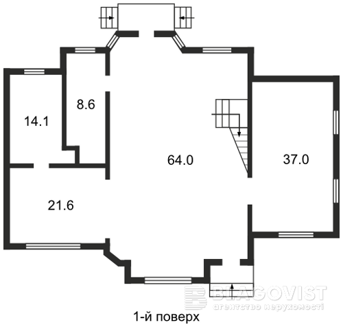 Будинок G-10229, Уральська, Київ - Фото 1