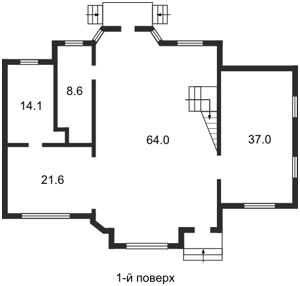 Будинок Уральська, Київ, G-10229 - Фото1