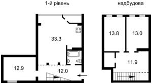 Квартира Пимоненка М., 5, Київ, M-13996 - Фото2