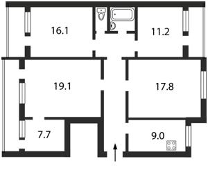 Квартира Печенежская, 9, Киев, Z-865999 - Фото2