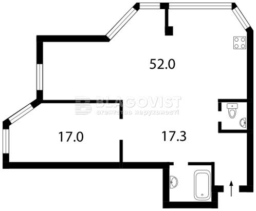 Квартира Z-728216, Гетьмана Вадима (Индустриальная), 1б, Киев - Фото 5