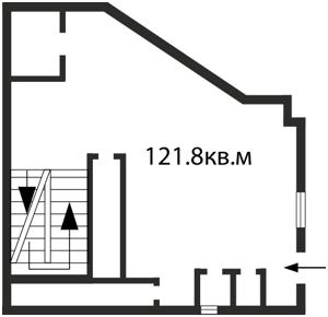 Нежилое помещение, Шота Руставели, Киев, C-81669 - Фото2