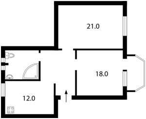 Квартира Заньковецкой, 3/1, Киев, E-13824 - Фото2
