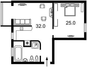 Квартира Леонтовича, 5, Київ, Z-1085068 - Фото2