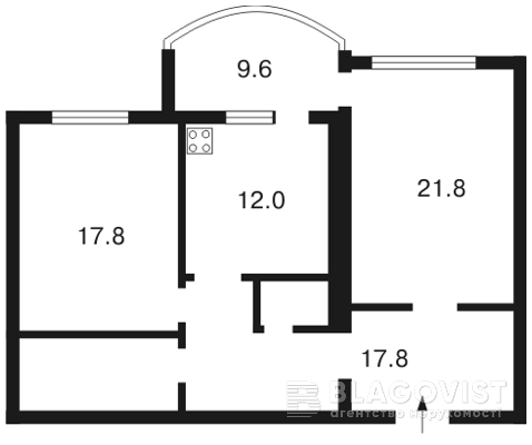 Квартира F-7298, Героев Сталинграда просп., 10а, Киев - Фото 4