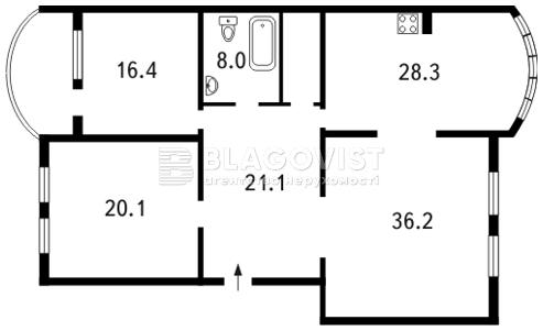 Квартира F-22971, Оболонская набережная, 19, Киев - Фото 3