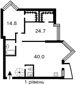 Квартира Бульварно-Кудрявская (Воровского) , 11а, Киев, B-51005 - Фото2