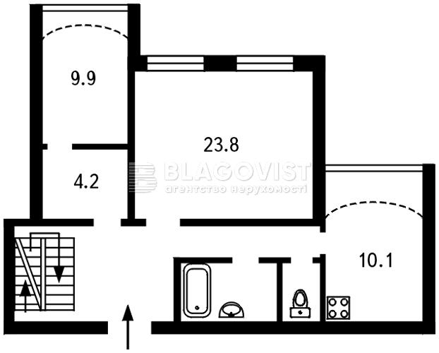 Квартира B-73528, Декабристів, 12/37, Київ - Фото 6