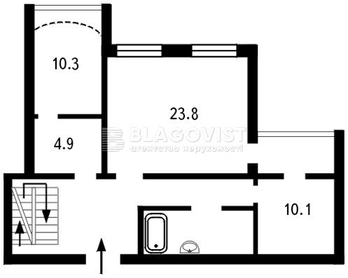 Квартира B-73528, Декабристів, 12/37, Київ - Фото 7