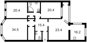 Квартира Деревлянская (Якира), 8, Киев, Z-856912 - Фото2