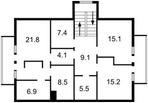 Дом F-24488, Плюты (Конча-Заспа) - Фото 4