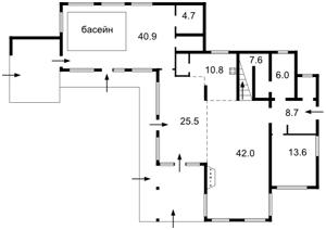 Дом Плюты (Конча-Заспа), F-24490 - Фото2