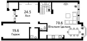 Будинок Козин (Конча-Заспа), C-79704 - Фото1