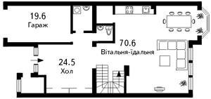 Будинок Козин (Конча-Заспа), C-79703 - Фото1