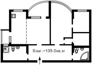 Квартира Саксаганського, 121, Київ, Z-579740 - Фото2
