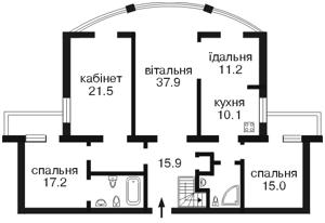Квартира Золотоустівська, 10/12, Київ, M-3707 - Фото2
