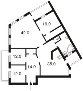 Квартира Обсерваторна, 10, Київ, F-2752 - Фото 2