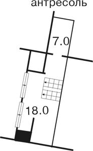 Квартира Ольгинська, 2/1, Київ, F-7651 - Фото3