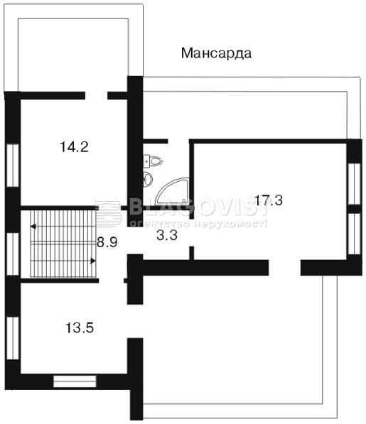 Дом A-78522, Гончара, Борисполь - Фото 1