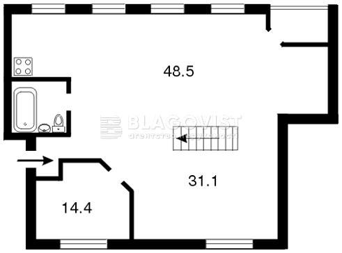 Квартира C-81364, Ярославов Вал, 19/31, Киев - Фото 2