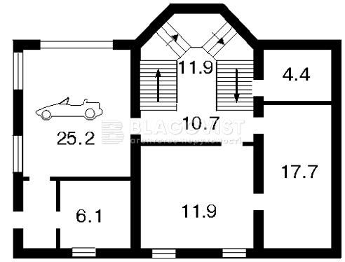 Будинок Z-611211, Військова, Київ - Фото 2