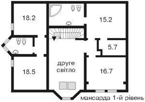 Будинок Крутогірна, Київ, D-13241 - Фото3