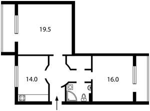 Квартира Грушевского Михаила, 34а, Киев, Z-585563 - Фото2