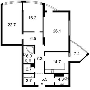 Квартира Глубочицкая, 32а, Киев, X-30928 - Фото2