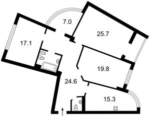 Квартира Митрополита Андрея Шептицкого (Луначарского), 10, Киев, Z-84441 - Фото2