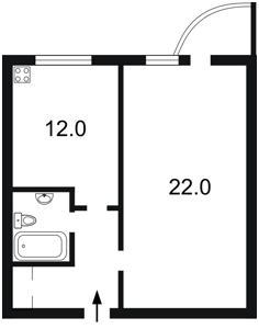 Квартира Ломоносова, 50/2, Киев, R-9437 - Фото2