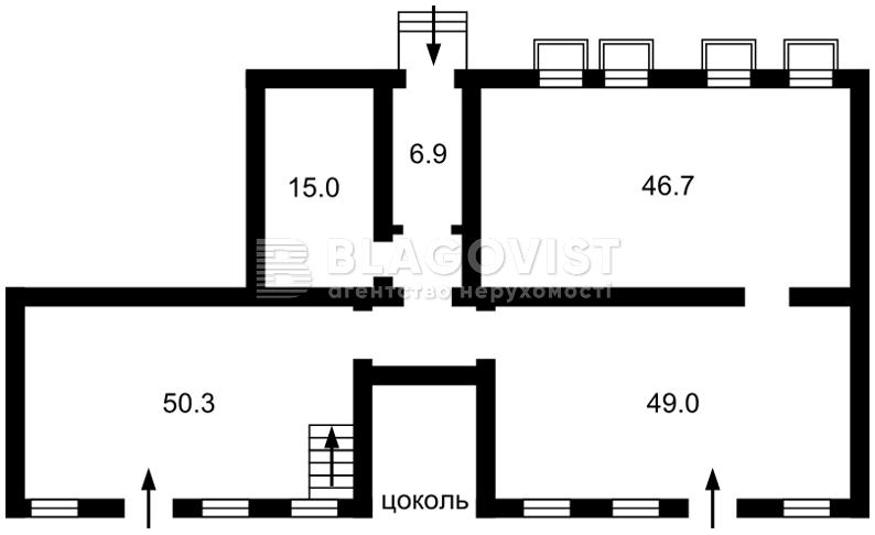 Нежилое помещение, H-38573, Федорова Ивана, Киев - Фото 2
