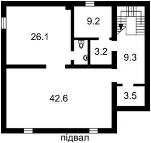 Дом F-38183, Лесная, Петропавловская Борщаговка - Фото 2