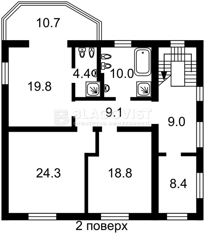 Дом F-38183, Лесная, Петропавловская Борщаговка - Фото 4