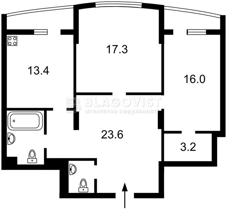 Квартира Z-171097, Леси Украинки бульв., 7б, Киев - Фото 7