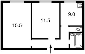 Квартира E-11773, Михайловский пер., 9а, Киев - Фото 2