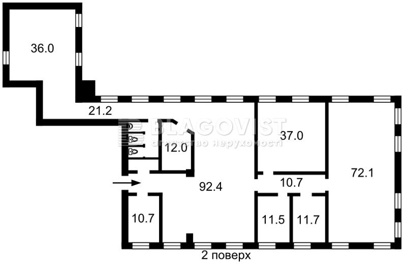 Офисно-складское помещение, F-38295, Смольная, Киев - Фото 3