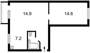 Квартира Сеченова, 10 корпус 3, Киев, R-8001 - Фото 2