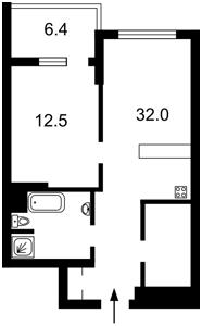 Квартира Драгомирова Михаила, 11, Киев, C-103950 - Фото2