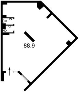 Нежилое помещение, A-107838, Максимовича Михаила (Трутенко Онуфрия), Киев - Фото 6