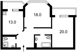 Квартира Білицька, 20, Київ, Z-1368631 - Фото2