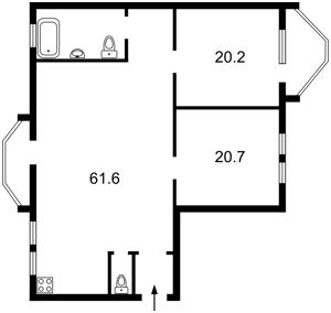 Квартира Тимошенка Маршала, 29в, Київ, Z-1383131 - Фото2