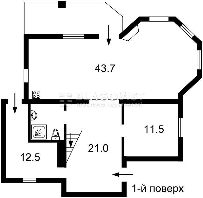 Дом F-38191, Садовая (Осокорки), Киев - Фото 2