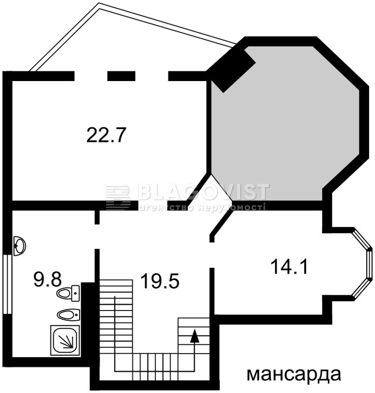 Дом F-38191, Садовая (Осокорки), Киев - Фото 3