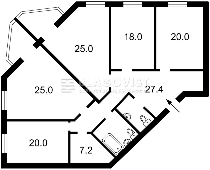 Нежитлове приміщення, A-107853, Окіпної Раїси, Київ - Фото 3
