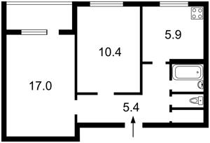 Квартира Героев Сталинграда просп., 44, Киев, Z-893847 - Фото2