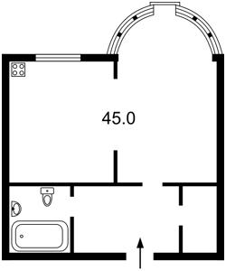 Квартира Черновола Вячеслава, 27, Киев, Z-140902 - Фото2