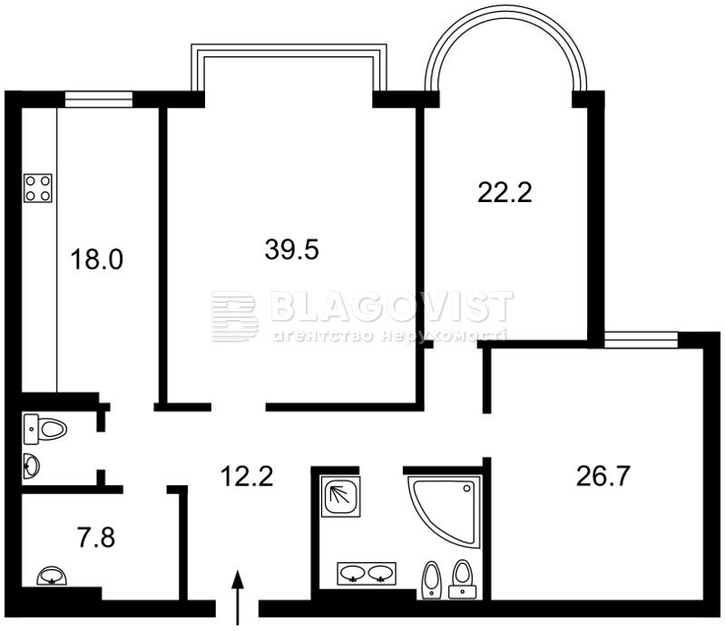 Квартира M-31942, Інститутська, 18а, Київ - Фото 4