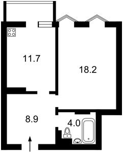Квартира Руданського Степана, 4-6, Киев, M-31934 - Фото2