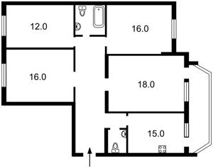 Квартира Z-1860328, Чоколовский бул., 10, Киев - Фото 2