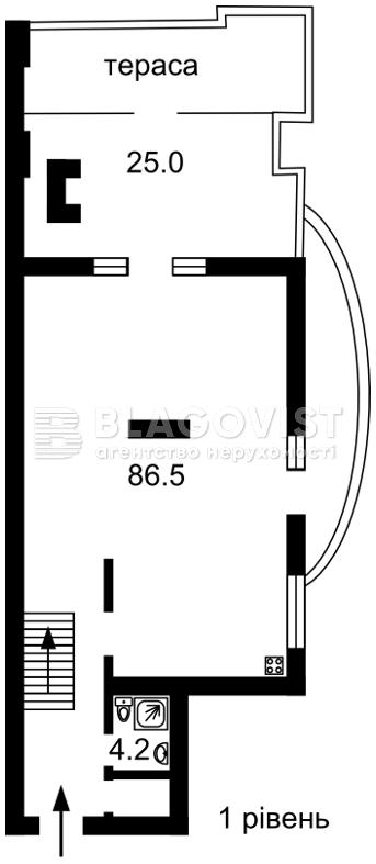 Квартира M-31234, Назаровская (Ветрова Бориса), 11, Киев - Фото 5